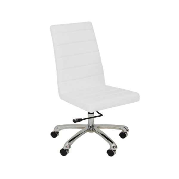 Moschino Office Chair White
