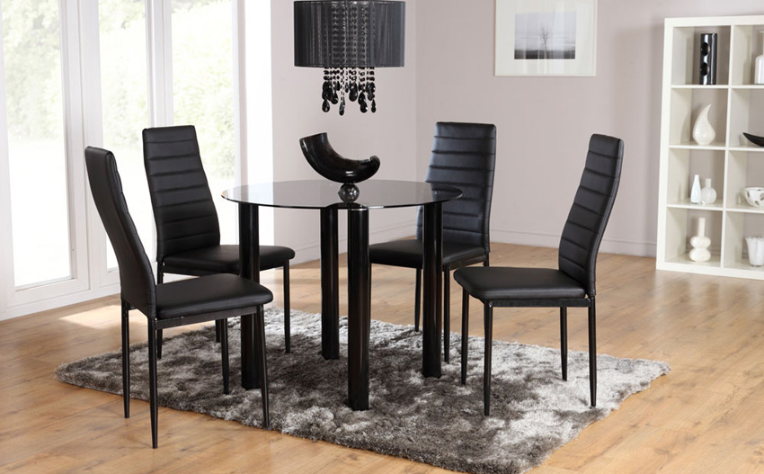 Moschino Dining Chairs Black