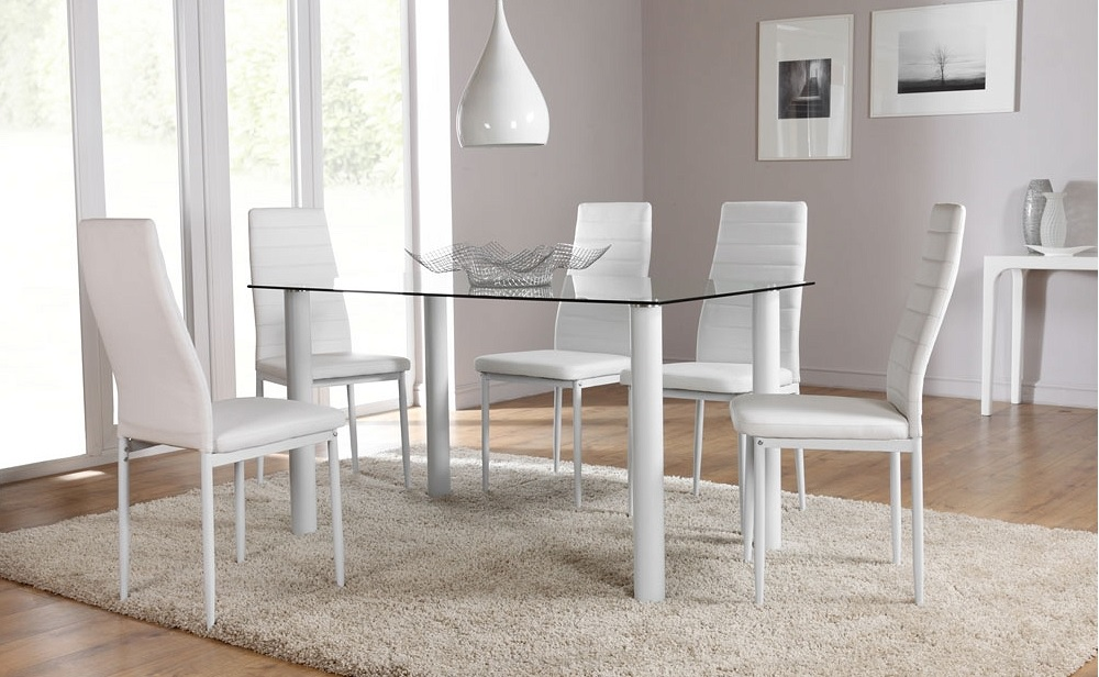 Moschino Dining Chairs White