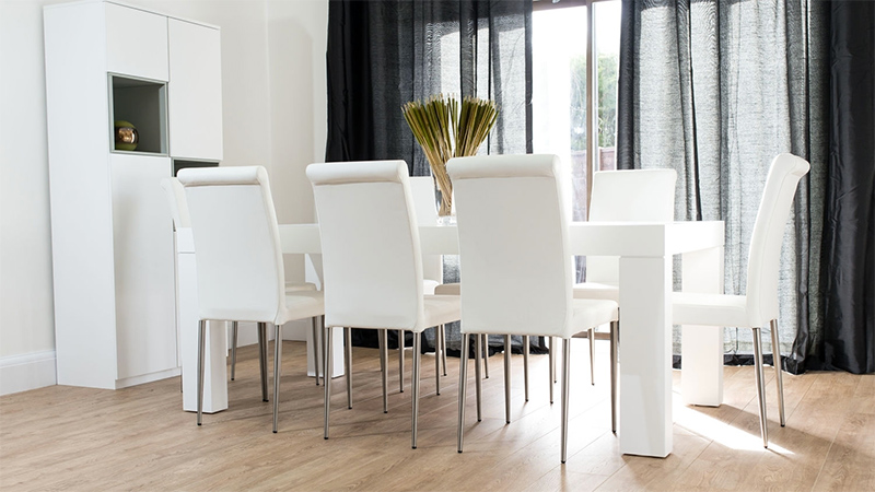 SMOOCH Dining Chair White